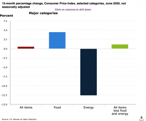 Consumer Price Index June 2020